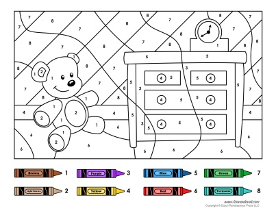 Color by Number Printables